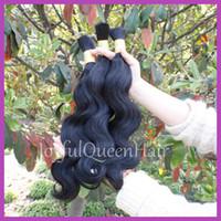 human braiding hair - 6A unprocessed Virgin Human hair bulk fashion brazilian body wave bulk hair for braids g pc b inch