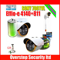 CCD 700TVL Yes 1 3'' Sony CCD Effio-E 700tvl 3 Array IR Outdoor HD 960H Security CCTV Bullet camera surveillance camFree Shipping to Deutschland Netherland