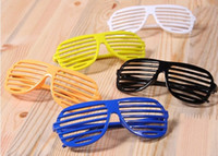 Wholesale best price Full Shutter Glasses Shades Sunglasses Glass Club Party