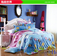 Diamond velvet Knitted Home Bedding set (sheets + quilt + pillowcase * 2)   diamond cotton 4 sets   three sizes can be selected   1.2M   1.5M   1.8M