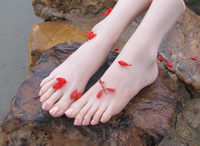 sex doll feet - sex outfit model toy rubber doll for sex female feet doll solid silicone appro cm skeleton inside foot toe real skin feel
