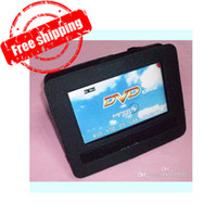 Wholesale 7 quot Portable DVD Player Car Headrest Mount headrest bag Dvd NOT INCLUDING