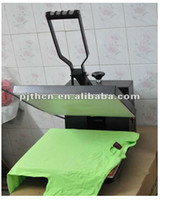 Wholesale 2014 hot sales T shirt High pressure heat press machine