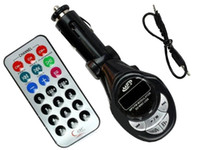 Wholesale Piece New Channels Car MP3 player wireless FM Transmitter