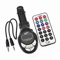 Wholesale 5 Pieces Channels Car MP3 player wireless FM Transmitter New