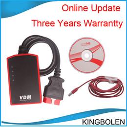 Wholesale Hotsale VDM UCANDAS WIFI Auto Diagnostic Tool Multi langauge perfect replacement for x431 diagun or cdp