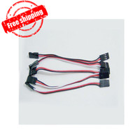 Wholesale F02195 cm Servo Extension Lead Wire Cable MALE TO MALE KK MK MWC flight control Board For RC