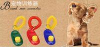 Wholesale Pieces Dog Pet Click Clicker Training Trainer Aid Wrist Strap New