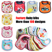 Wholesale Cheap Baby Girl Waterproofs - New baby bibs & Burp Cloths Baby Feeding baby clothes baby towels cottonBaby Accessories boys girls Waterproof bib Cheap z