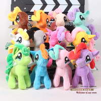 Wholesale 10pcs quot My Little Pony Plush Toys Soft Stuffed Animal Dolls Baby Toys Girls Dolls ANPT183