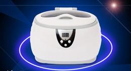 Wholesale Ultrasonic cleaning machine household glasses jewelry watch razor dentures Disinfection Cleaner Tool Ultrasonic Cleaners