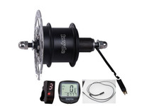Yes disc brake motor - DIY Electric bicycle conversion kit Rear disc brake motor display cable V