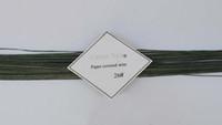 Wholesale Artistic flower DIY green florist wire gauge pieces quot