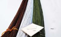 Wholesale 26gauge brown green white florist wire pieces