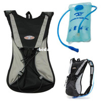 Wholesale Hydration Pack Water Rucksack Bike Bicycle Cycling Backpack L Bladder Bag Outdoor Sports Hiking Trekking Jogging Black Pouch