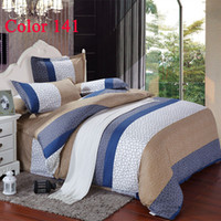 Polyester / Cotton Knitted Home Cheap bedding set bedclothes home textile bed sheet duvet cover sets full king queen size bedspread duvet sets velvet duvet cover set