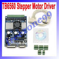 Cheap 3 Axis TB6560 3.5A CNC Engraving Machine Stepper Motor Driver Board 16 Segments Stepper Motor Controller FZ0619 Free Shipping
