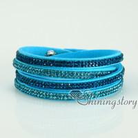 Cheap Link, Chain slake bracelets Best Bohemian Unisex rhinesetone crystal bracelets