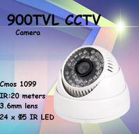 Cámara de seguridad 900TVL DIS chipset sistema de videovigilancia de interior plástico de vivienda ir cortar la visión nocturna fácil arreglo