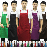 apron lot pocket - NEW Hot Items Adjustable Working Restaurant Waiter Apron for Mens Aprons with Pockets Colors Kitchen Cooking Tool Freeshipping