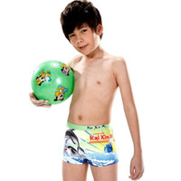 Boy Bikinis 3-6 Months 2012 new children's swimwear boys boxer swim trunks swimsuit Korean digital printing cartoon