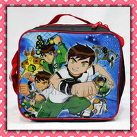 Wholesale Boys Cartoon BEN Lunch bag including a lunch box and a bottle