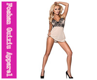 M sexy mini skirt - Adult Lingerie Sexy Underwear For Women Enchanting Bliss Babydoll Plus Size Chemise Lace Mini Underwear G string I2701