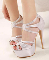Wholesale 2014 new sexy woman s elegant contracted wind peep toe high heeled sandals spike of Rome stiletto heel xz086