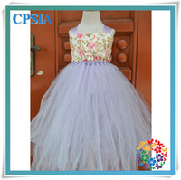 TuTu Summer Ball Gown hot sale wholesale baby charming dresses 2014 stylish tutu dress 2 layers with chest and wide shouldres straps set for kids 12pcs lot(10)