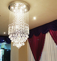 Wholesale 2014 new modern luxury dinning room ceiling contemporary crystal chandelier modern home decoration crystal lighting Dia500 h1000MM
