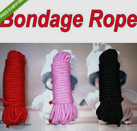 Wholesale 5M New Soft Cotton Bondage Rope Strap Restraints Adult Tie Up Sex Toy Kit