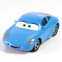 cars 2 diecast - 081 Pixar Cars Sally Scale Diecast Metal Alloy Modle Brio Cute Toys For Children Gifts