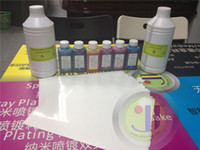 Wholesale Water transfer Complete kit Hydrographic activator A B liter Blank film Pieces in A4 size Ink set and paint printing hydrographic film