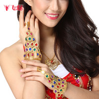 Wholesale Egyptian dance with fly charm jewelry Diamond Bracelets new belly dance bracelet chain single