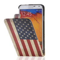 For Samsung american flag buy - american flag leather case for Samsung N9000 Note3 Samsung N9000 Note3 N9006 N9002 N9009 N9008 N9005 N900