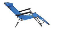 Metal 1783047 Beach Chair Update Version Large Size Portable Folding Beach Office Fishing Chair Siesta Deck Chair Strong Comfortable 3 Color Choice
