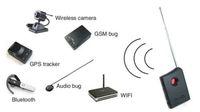 gps tracker detector - Sensitive Hidden Wireless Spy Camera GSM Bug Tracker RF LENS Detector Finder