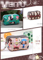 Wholesale The new Harajuku bag Wallets phone package Cosmetic change three thick waterproof