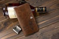 Wholesale Brand new Leather Long Wallet Cowboy Men Pocket Card Clutch Cente Bifold Purse Leather men s wallet Long wallet