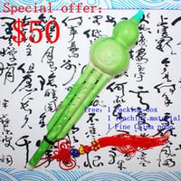 Wholesale yunnan Imitation jade Plastic Bottle gourd silk Sound C and Bb