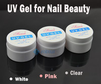 Wholesale Cheaper UV Builder Gel Nail For Creating Fantastic Crystal French Nail Effect Clear White pink Free chose