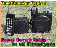 Wholesale Hunting MP3 Bird Caller W High Power M Remote Control Hunting Bird Decoy MP3 Player Amplifier Loudspeaker Support External Speaker