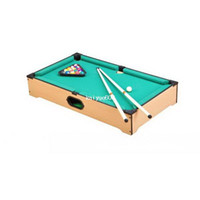 Wholesale Child snooker table household child pool table mini child toy standard large american snooker table