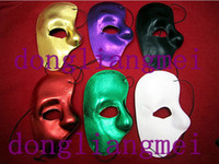 Wholesale 10pc pc pc Right Face Cloth Mask The Phantom Of The Opera Cartoon Exhibition Mask O H53