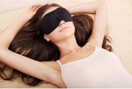 Wholesale Hot sale Travel Sleep Rest D Sponge EyeShade Sleeping Eye Mask Cover Patch Blinder for health care K07567