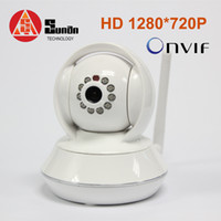 Wholesale 720P MP IP Robot camera mm Lens With Wifi Onvif supportive Support TF card storage Two Way Audio