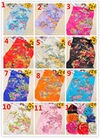 Wholesale women scarf Newest Style colors Scarf Sarongs Brisk flower Pattern Scarves Chiffon Printed Scarfs