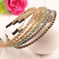 Headbands other Mexican Multiple styles mixed batch Fashion Crystal Rhinestone Headband hair accessories beaded headdress pastoral female hair bands a142