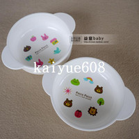 2-4 Years pp plastic raw - Baby bowl Baby bowl baby child bowl tableware super capacity ml raw material pp resin