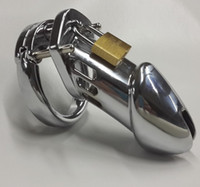 Wholesale lARGEST chastity online new male chastity Device metal Adult Cock Cage Novelty LARGE SIZE HOT SELLING Chastity Belt With Lock